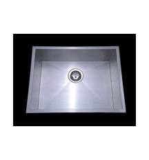 MODERN SQUARE BOWL SUITABLE FOR TOP OR UNDER MOUNT Code PS-540