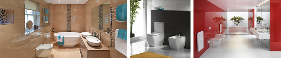 Stylish Toilet Suites